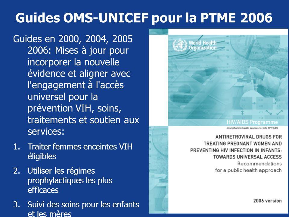 Guides OMS-UNICEF pour la PTME 2006