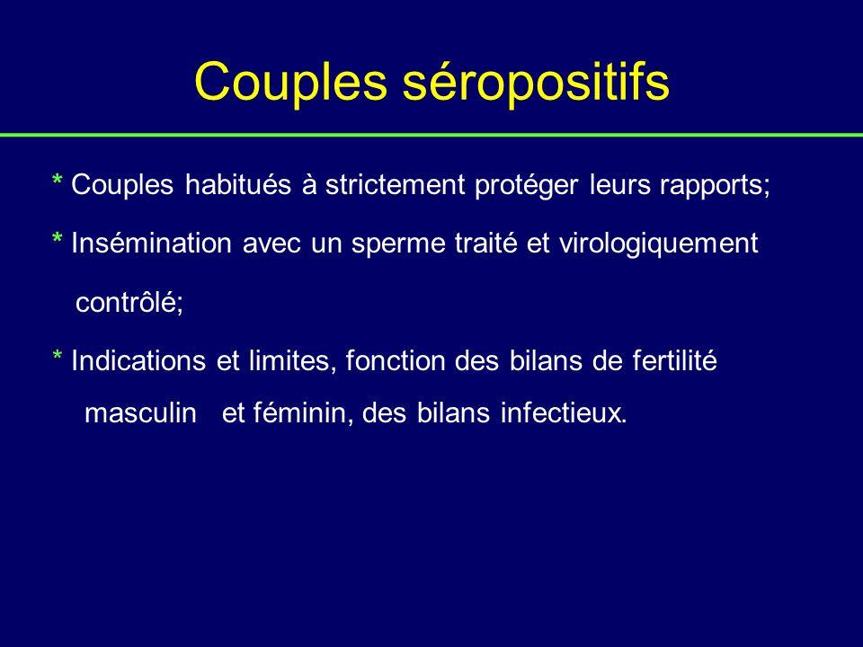Couples séropositifs