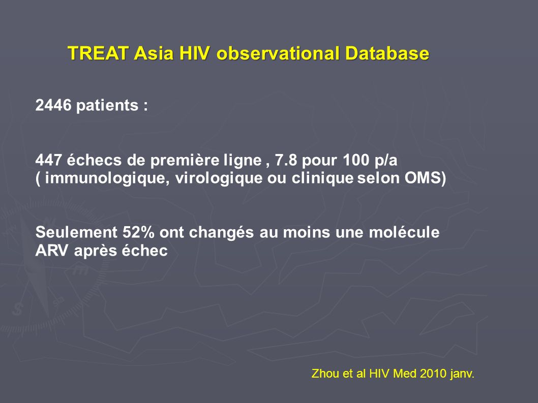 TREAT Asia HIV observational Database