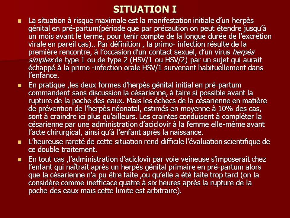 SITUATION I