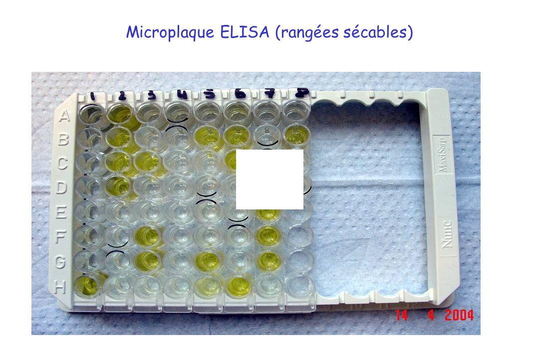 Microplaque ELISA (rangées sécables)