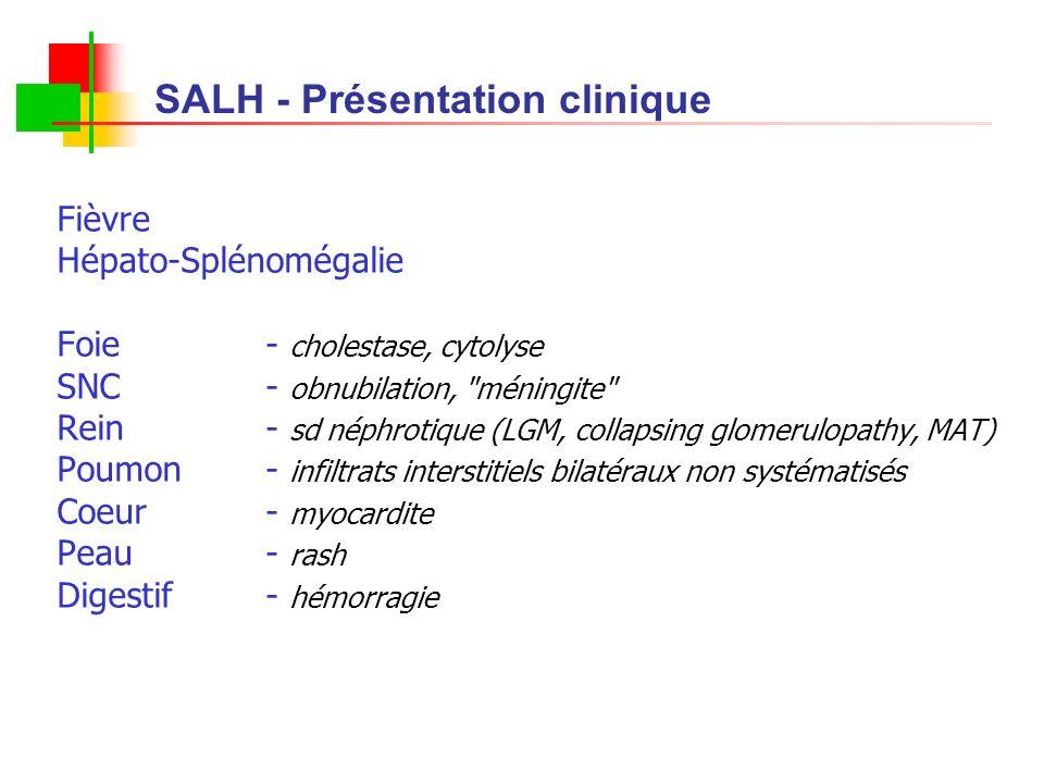 SALH - Présentation clinique