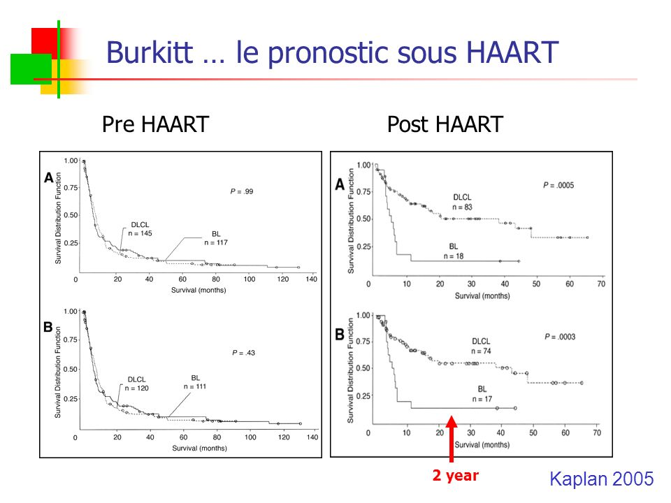 Burkitt … le pronostic sous HAART