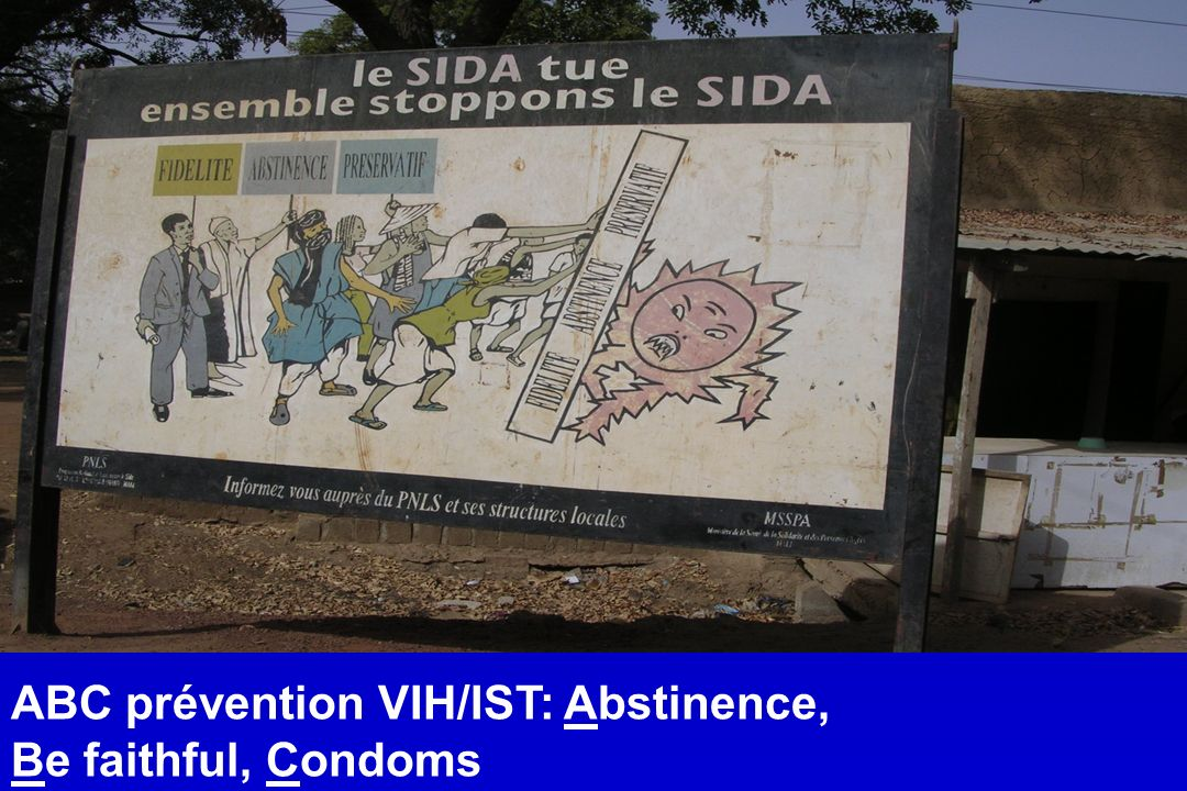 ABC prévention VIH/IST: Abstinence,