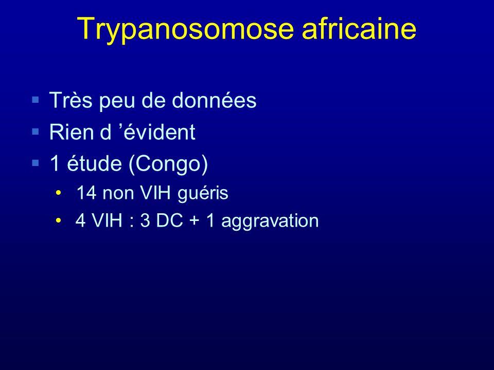 Trypanosomose africaine