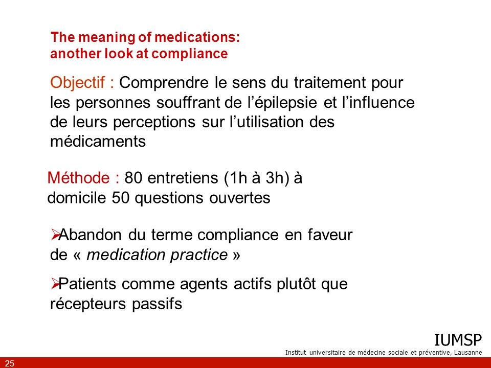 The meaning of medications: another look at compliance