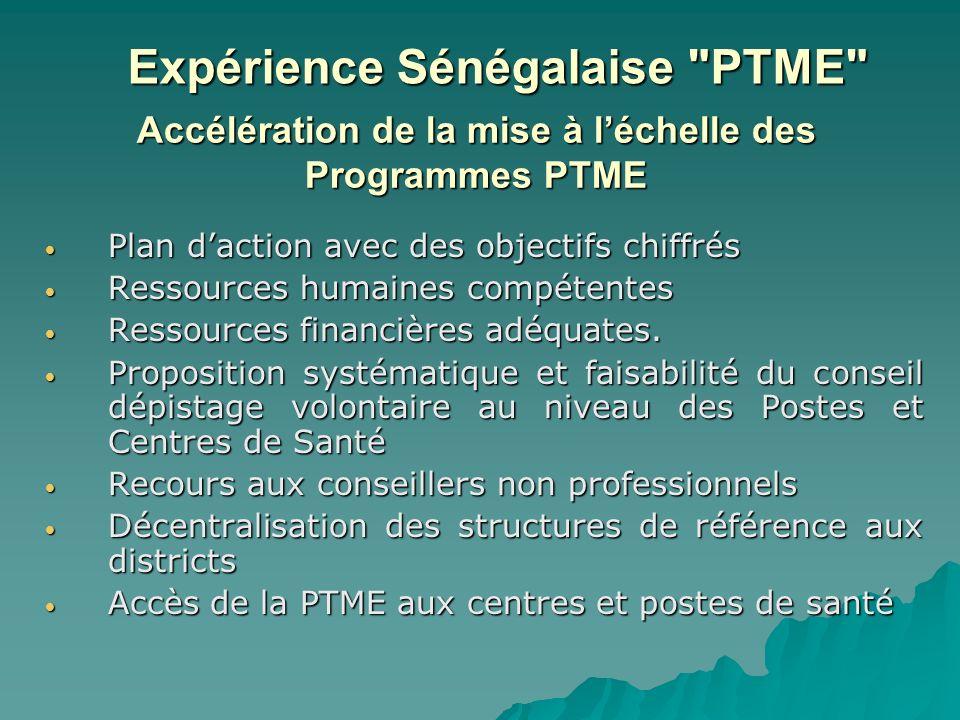 Accélération de la mise à l'échelle des Programmes PTME