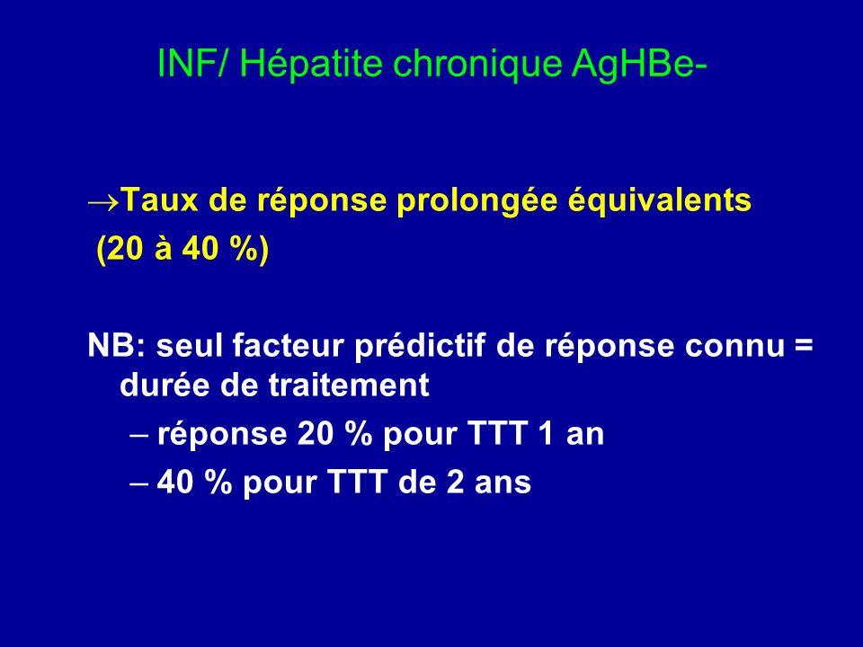 INF/ Hépatite chronique AgHBe-
