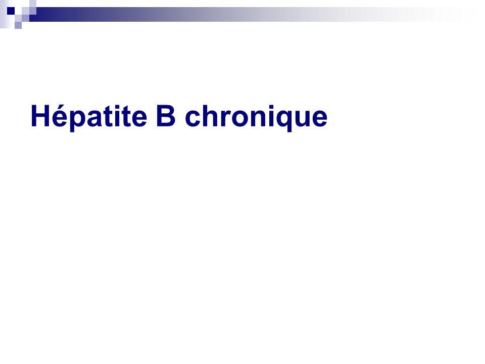 Hépatite B chronique