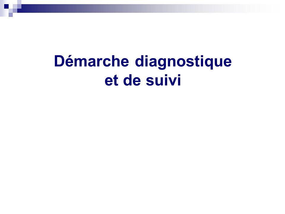 Démarche diagnostique et de suivi