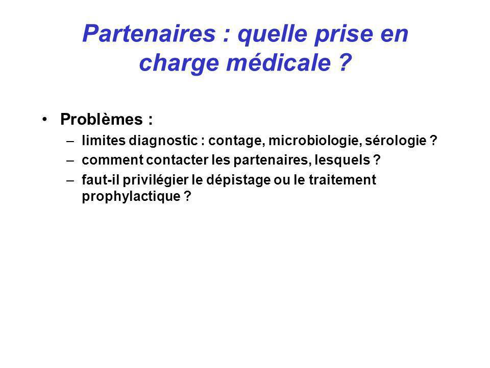 Partenaires : quelle prise en charge médicale