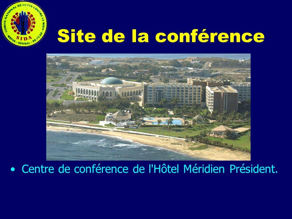 Site de la conférence Centre de conférence de l Hôtel Méridien Président.