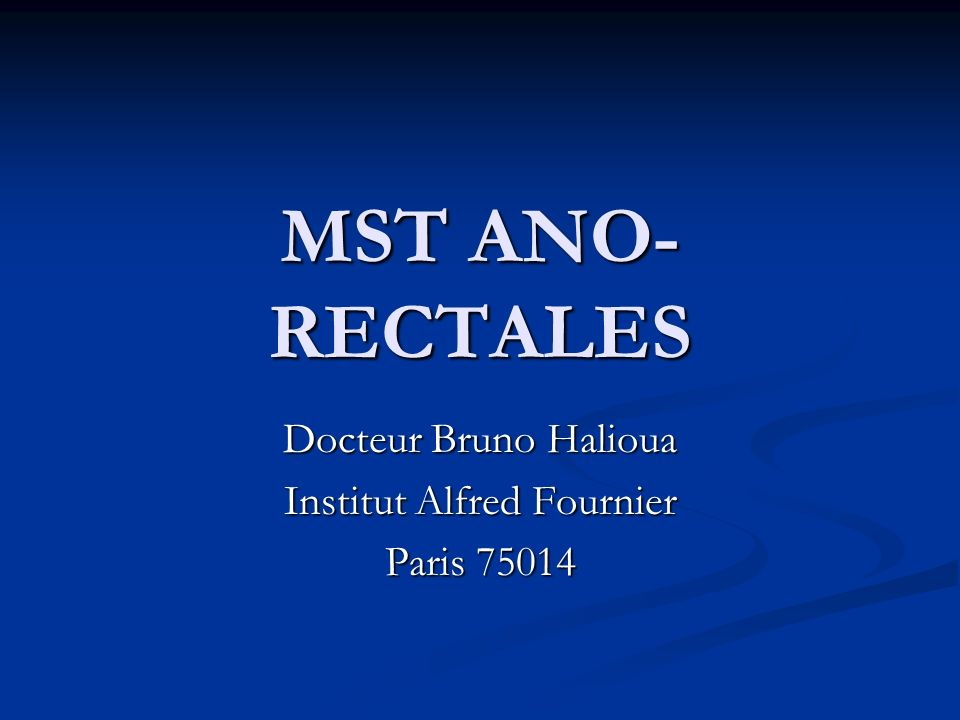 Docteur Bruno Halioua Institut Alfred Fournier Paris 75014