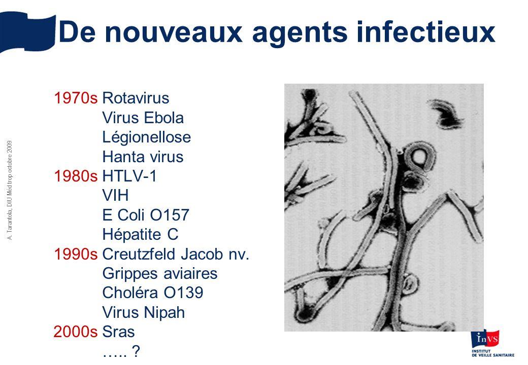 De nouveaux agents infectieux