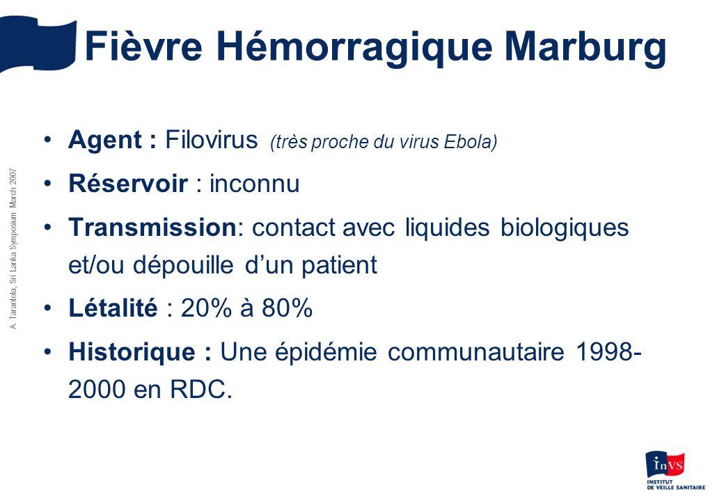 Fièvre Hémorragique Marburg