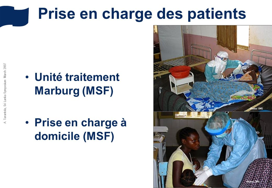 Prise en charge des patients