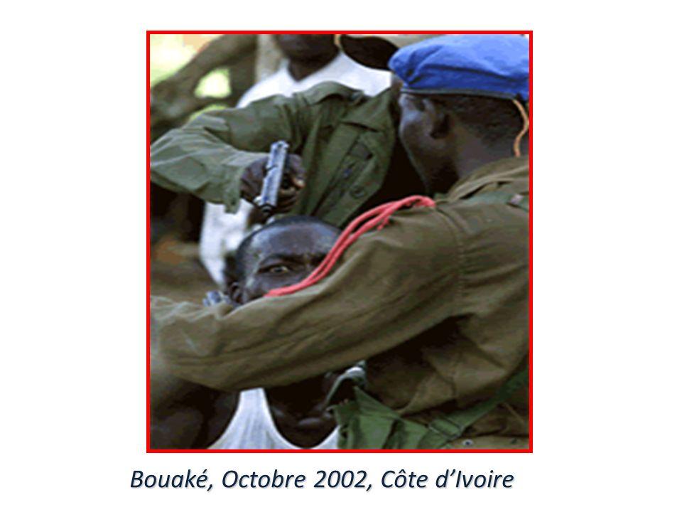 Bouaké, Octobre 2002, Côte d'Ivoire