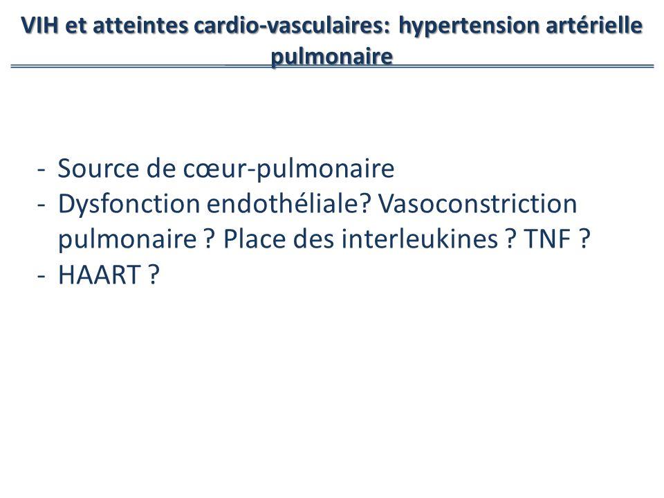Source de cœur-pulmonaire
