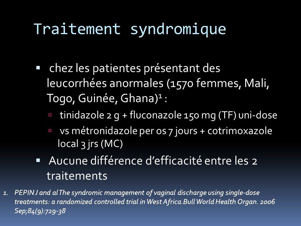 Traitement syndromique
