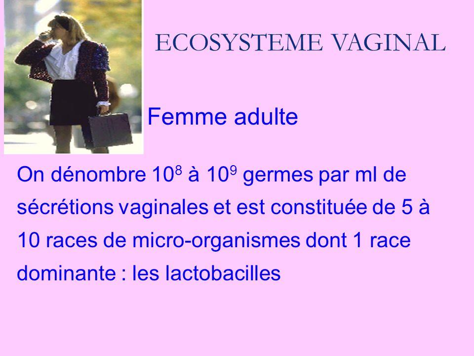 ECOSYSTEME VAGINAL Femme adulte