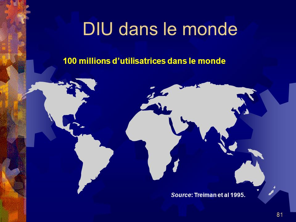 100 millions d'utilisatrices dans le monde