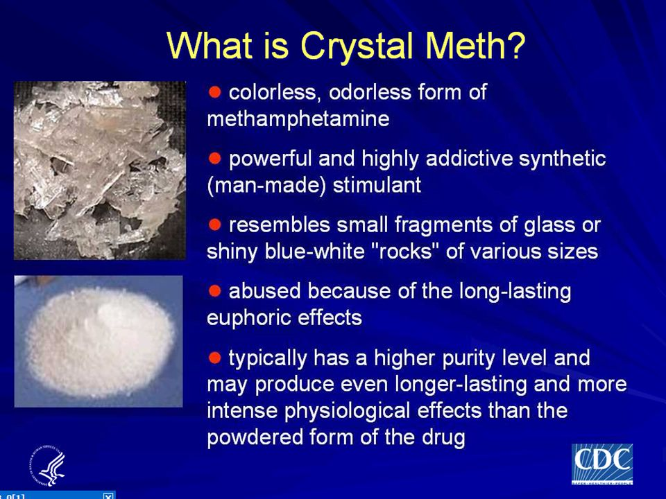 Wednesday, May 10, 2006 - 10:20 AM 195 Effects and prevalence of meth use. Jo Valentine, DSTDP, CDC, Atlanta, GA, USA.