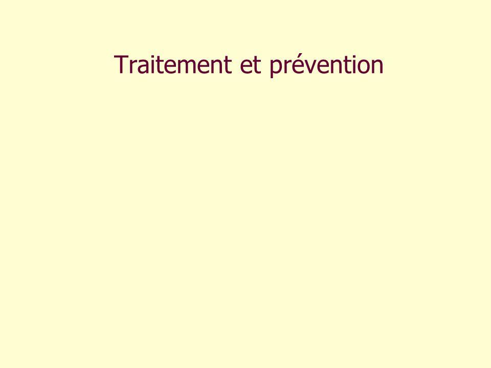 Traitement et prévention