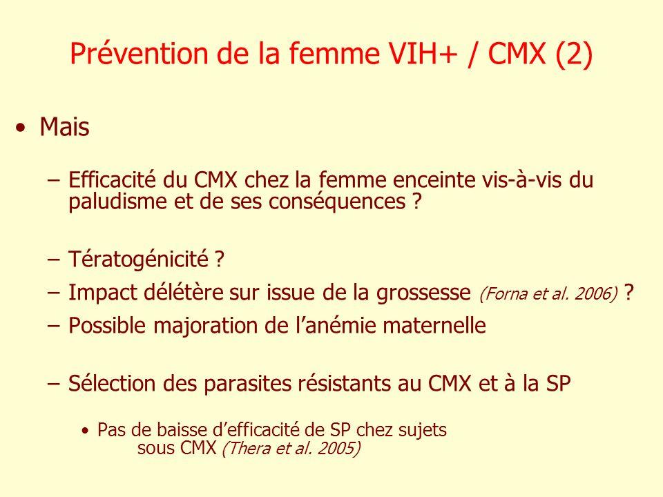 Prévention de la femme VIH+ / CMX (2)