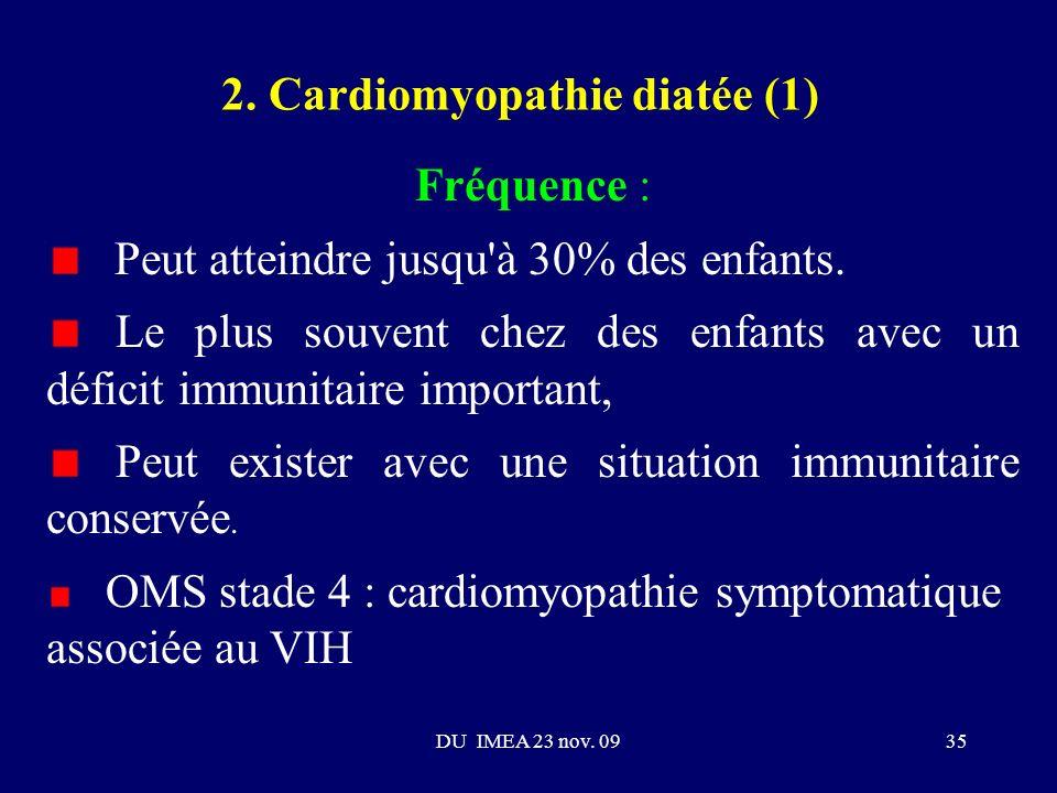 2. Cardiomyopathie diatée (1)