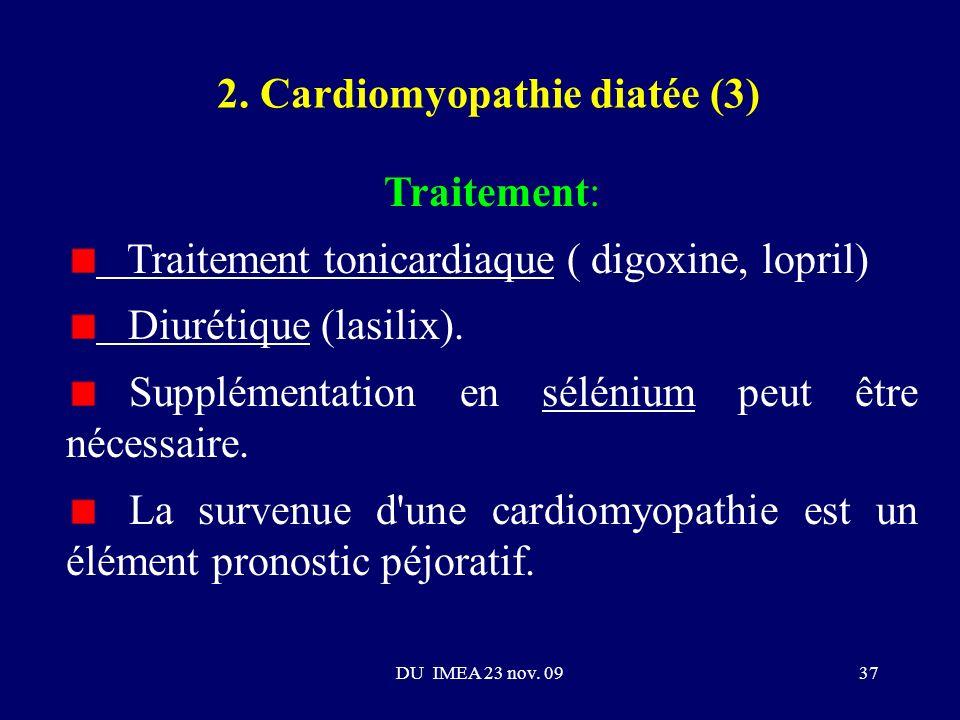 2. Cardiomyopathie diatée (3)