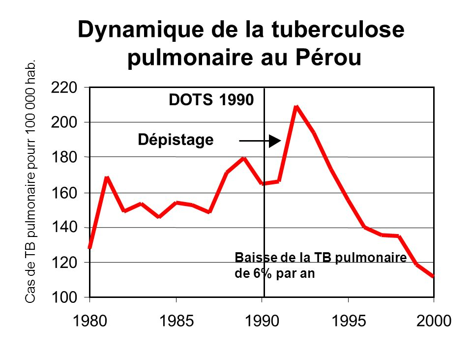 Dynamique de la tuberculose