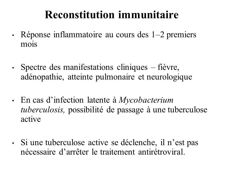 Reconstitution immunitaire
