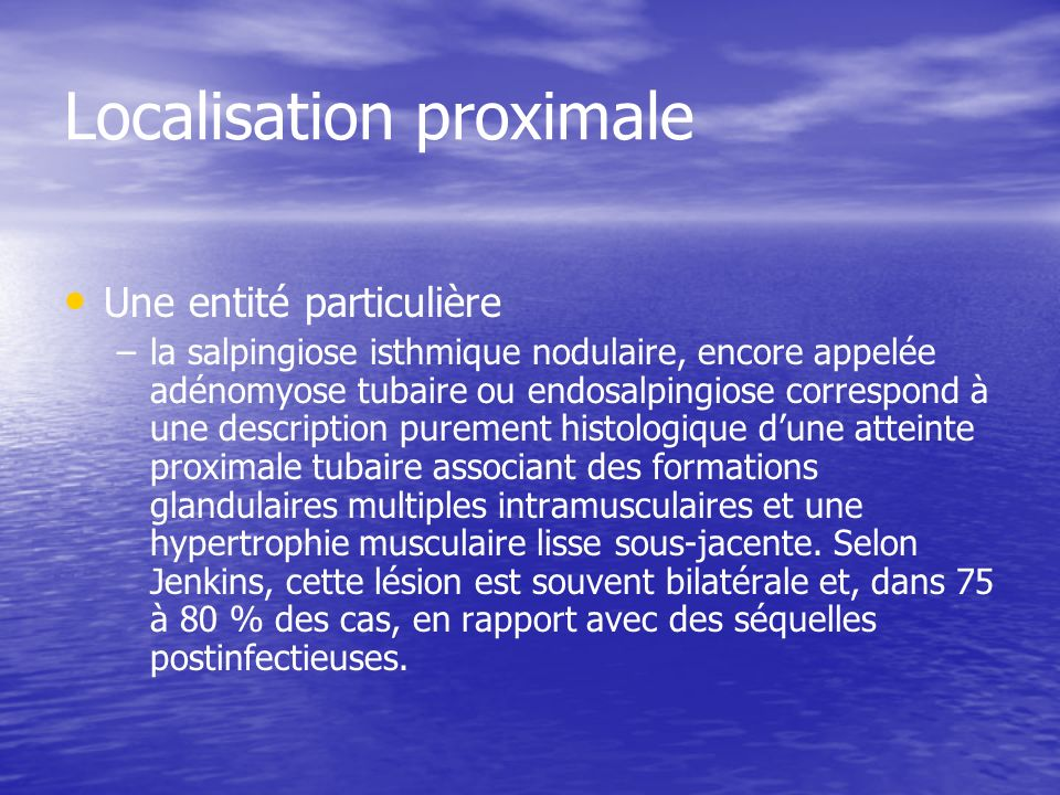 Localisation proximale