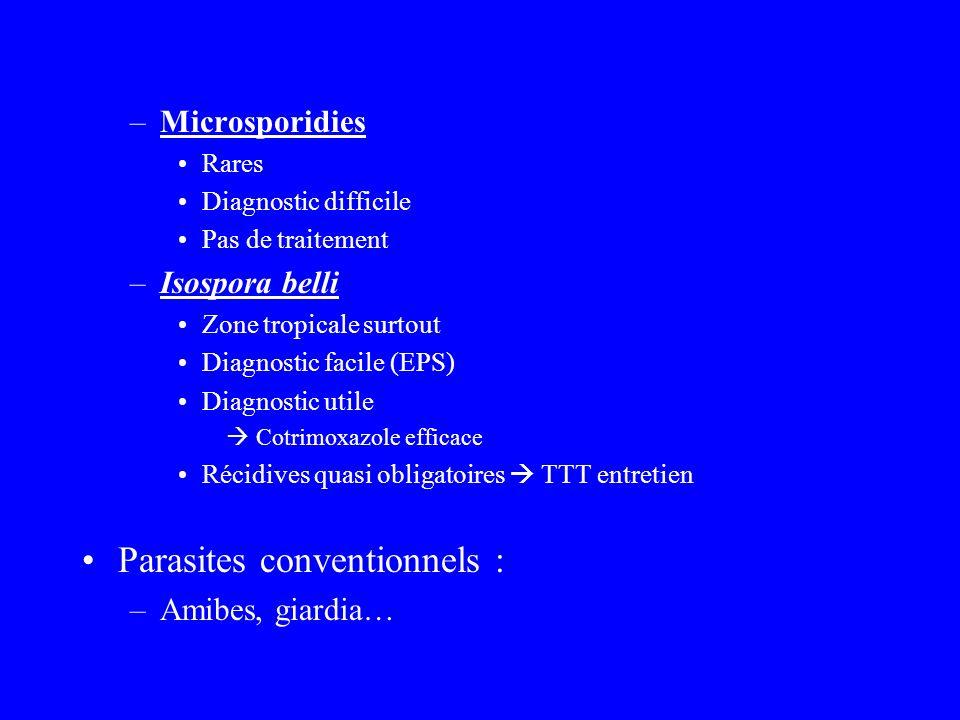 Parasites conventionnels :