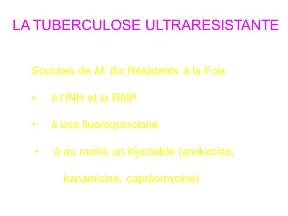 LA TUBERCULOSE ULTRARESISTANTE