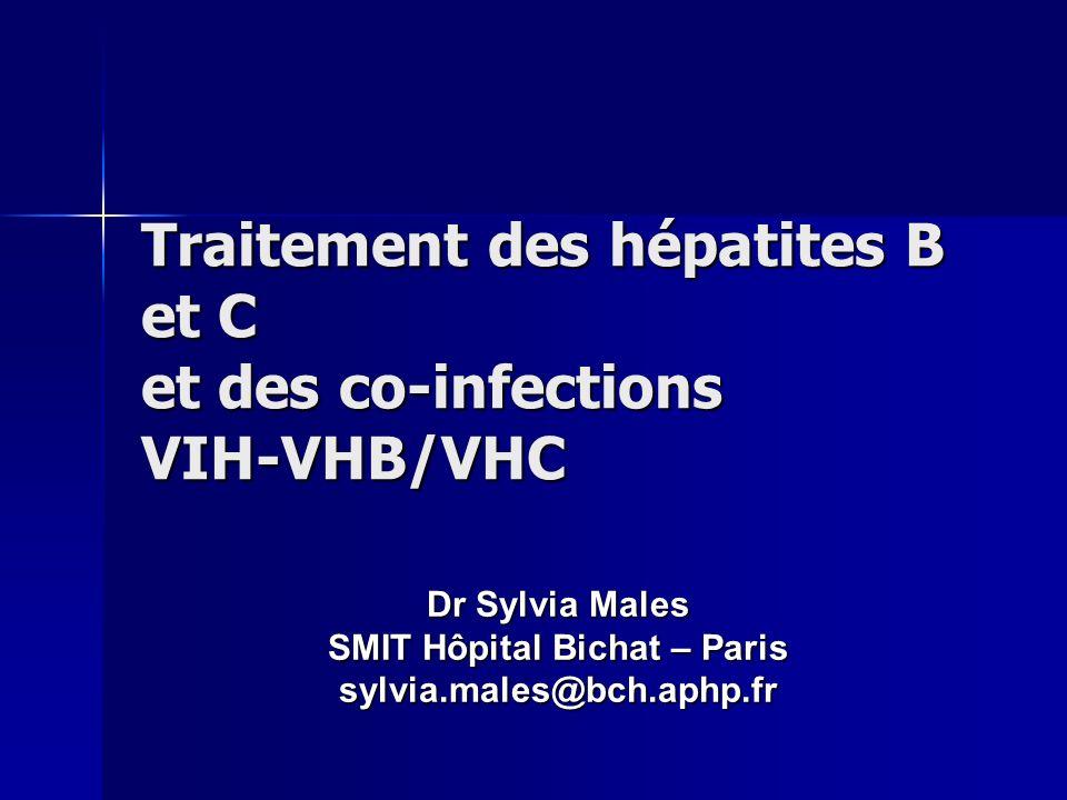 Traitement des hépatites B et C et des co-infections VIH-VHB/VHC