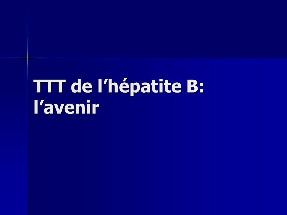 TTT de l'hépatite B: l'avenir