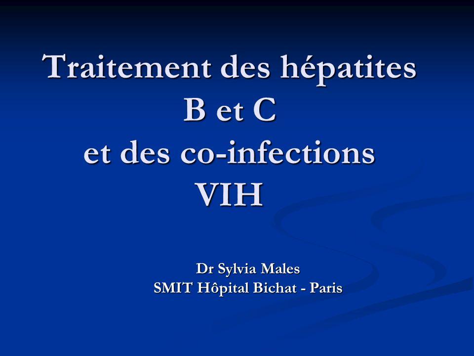 Traitement des hépatites B et C et des co-infections VIH