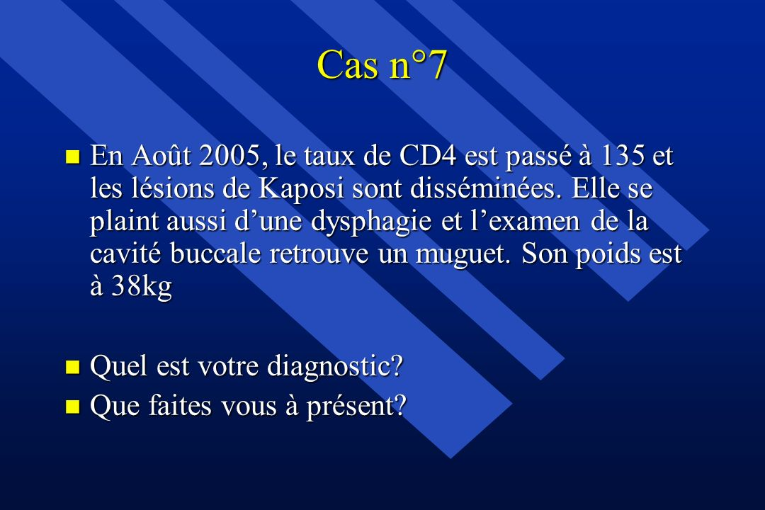 Cas n°7