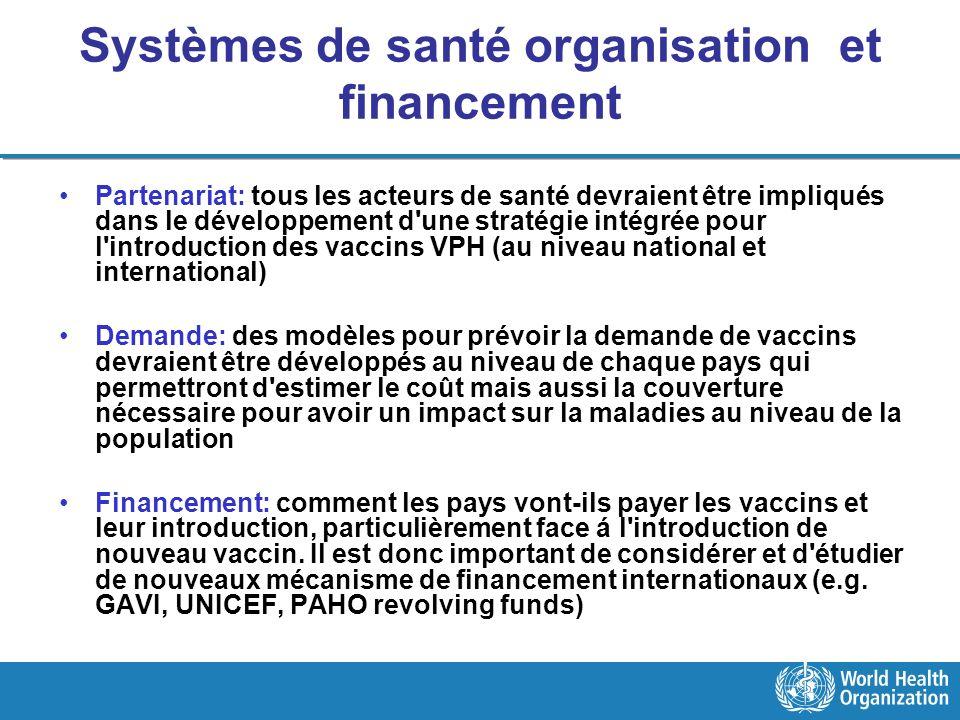 Systèmes de santé organisation et financement