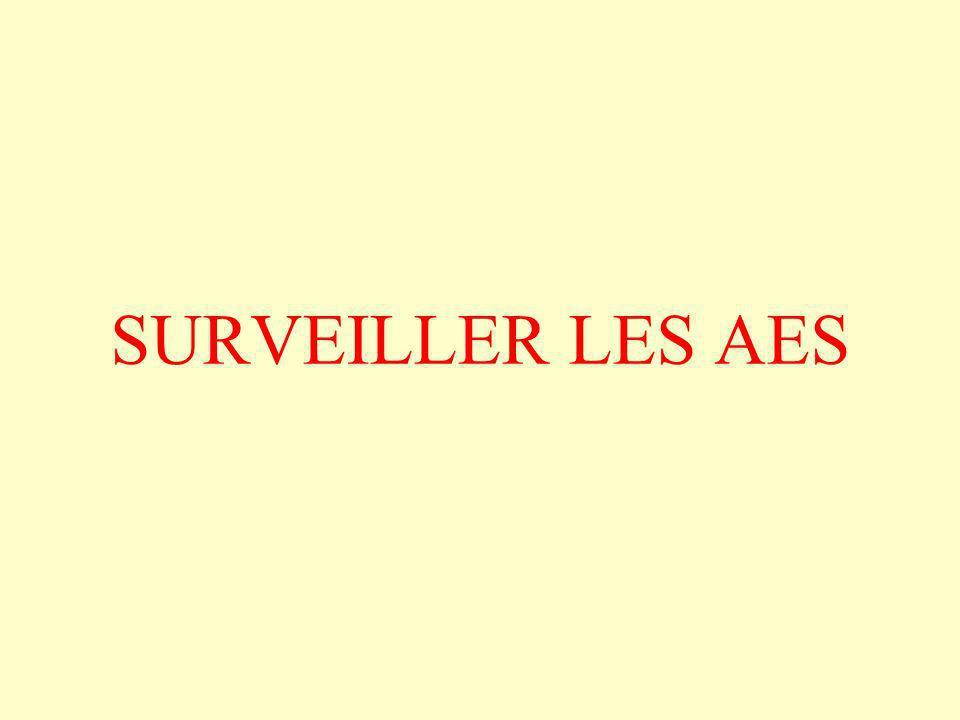 SURVEILLER LES AES