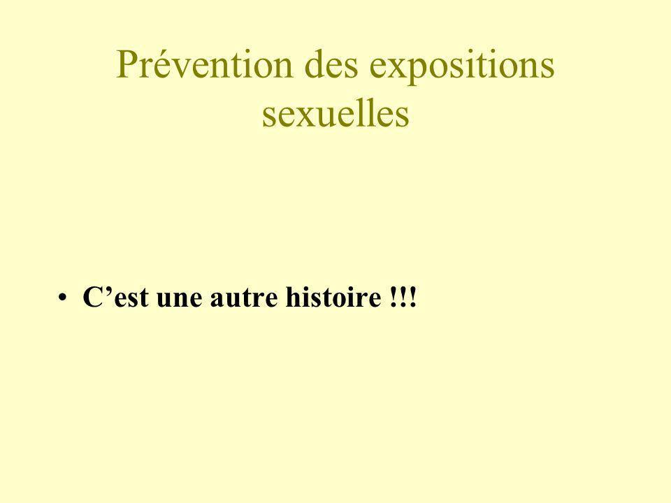 Prévention des expositions sexuelles