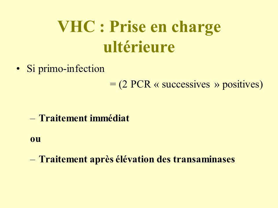 VHC : Prise en charge ultérieure