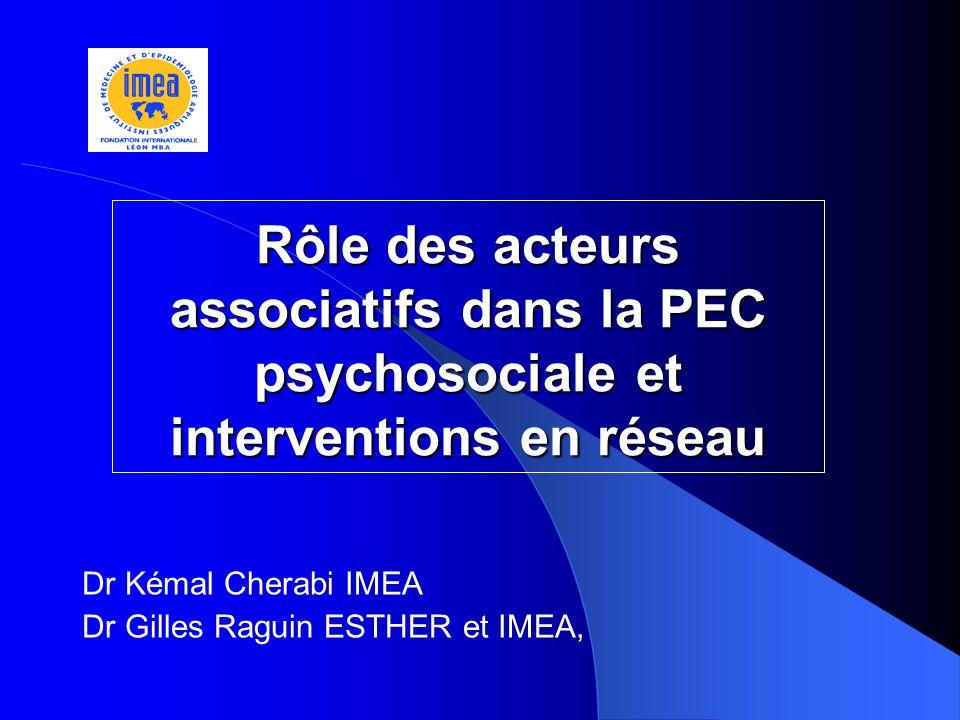 Dr Kémal Cherabi IMEA Dr Gilles Raguin ESTHER et IMEA,