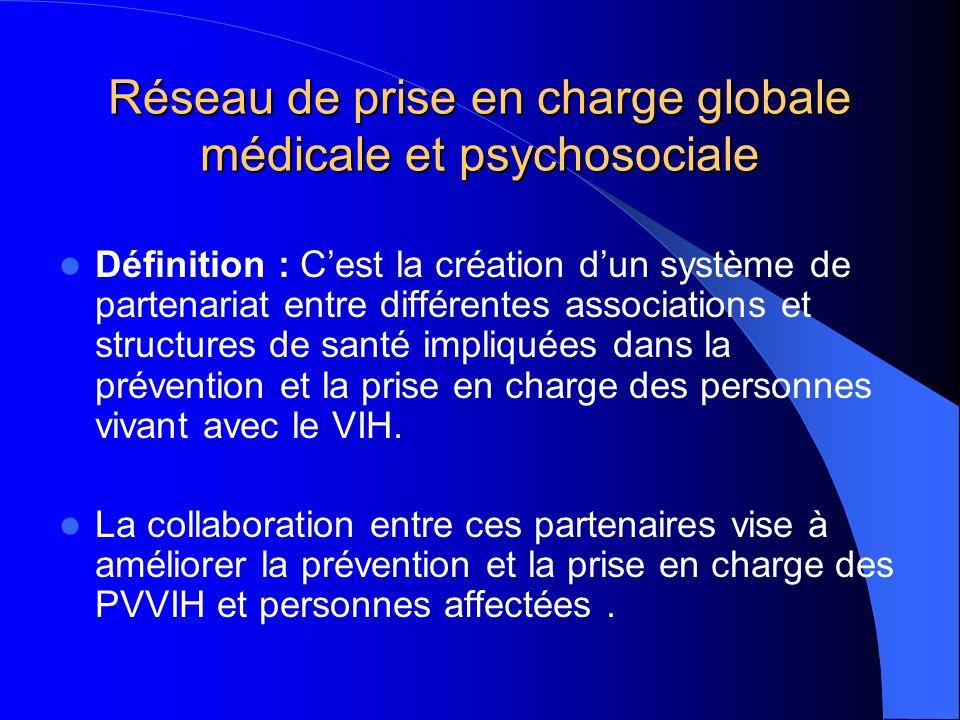 Réseau de prise en charge globale médicale et psychosociale