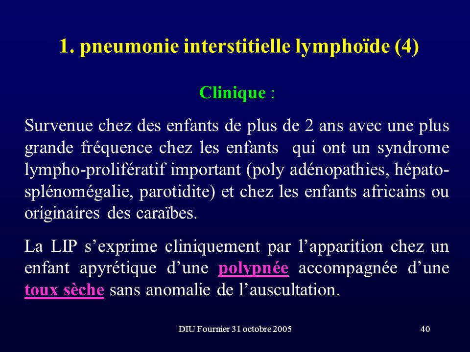 1. pneumonie interstitielle lymphoïde (4)