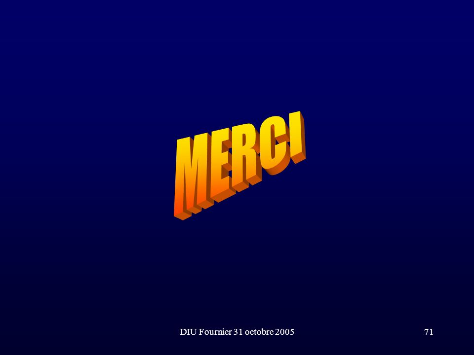 MERCI DIU Fournier 31 octobre 2005