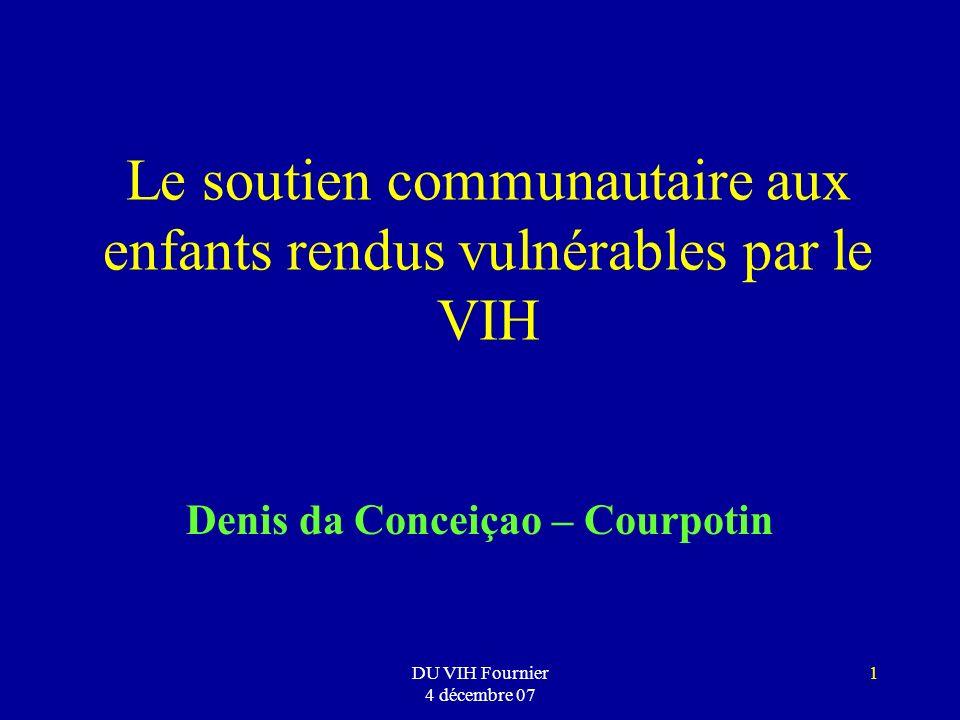Le soutien communautaire aux enfants rendus vulnérables par le VIH