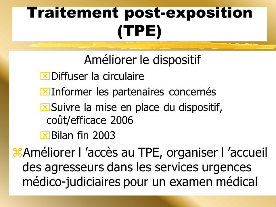 Traitement post-exposition (TPE)
