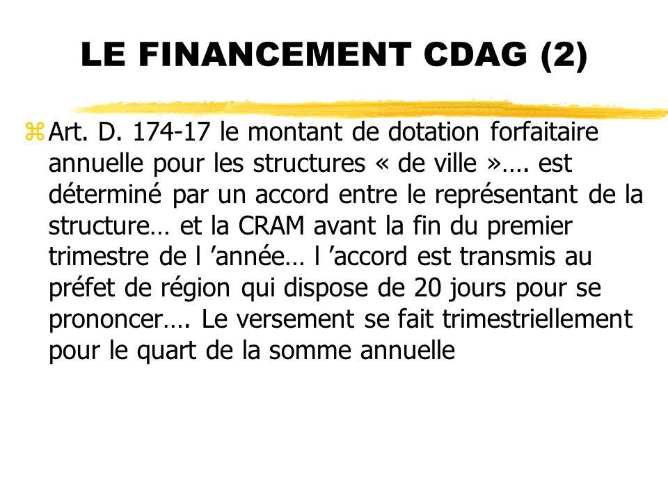 LE FINANCEMENT CDAG (2)